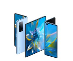 Originale per Huawei Mate X2 5g Mobilephone 8 pollici ripiegato Schermo Kirin 9000 octa Core 4500 mAh 55 W Supercharge NFC 50 MP Telefono principale