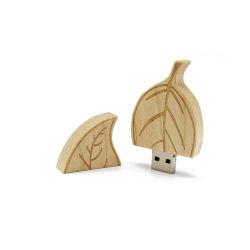 Stock Holz USB-Flash-Laufwerk USB Sticks USB Pen-Laufwerk Mit Logo