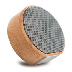 Профессиональные портативные стерео зерна из дерева для использования вне помещений мини Bluetooth беспроводной динамик для воспроизведения музыки
