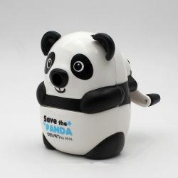 De School van meisjes levert de Leuke Slijper van de Tijger van de Panda van de Jonge geitjes van de Reeksen van de Kantoorbehoeften voor Scherpers van de Nieuwigheid van Handcrank van het Potlood de Grappige