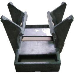 Realizzazione di stampaggio in fusione, sbavatura, gamma applicata del dispositivo ampiamente, parte in lega di alluminio pressofusa