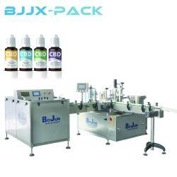 Farmacéutica automático/Vial tóner Facial Líquido Máquina Tapadora de llenado de la línea de producción