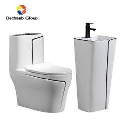 베이슨 및 WC의 새로운 디자인이 적용된 세라믹 욕실 화장실 위생 용품