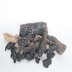Libri macchina di legno di ceramica per il camino di gas decorato