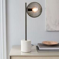 Cristallo marmo rame di lusso Nordic Modern LED Ristorante Bar terzo Lampada da tavolo (WH-MTB-212)