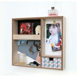 Wood Organizer 42X8X38cm Hanging Wall Organizer, 홈 데코, 홈 장식, 홈 장식, 홈 장식, 목재 아트, 목재 장식, 벽장식