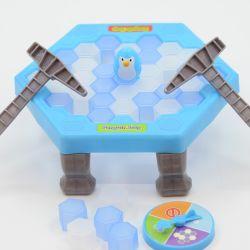 Головоломки игры Родительский-дочерний Ice-Breaking пингвинов, Ice-Block выхода игры сохранить Парад Пингвинов, игры для детей сохранить ловушки пингвинов Ice Break молотка блок игрушка Esg17054