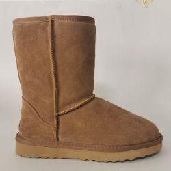ثلوج الجملة حذاء 5825 طبيعي حذاء شتوي المرأة