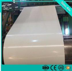 PVDF PV3003 A 3004 3105 Templar H24 Rodillo de aluminio para materiales de construcción