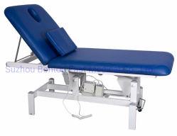 Venta caliente Hospital Clinic Salón de Belleza Masaje Plegable Portátil eléctrico paciente ajustable manual hidráulica mesa de examen móvil/cama/sofá