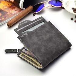 따뜻한 선물 여행 돈 클립 RFID 정품 가죽 남성용 지갑