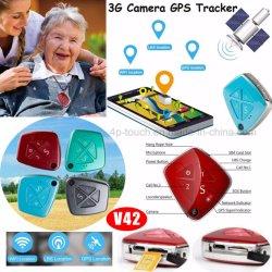 Newest 3G WCDMA Personal Tracker GPS avec chute d'alerte d'alarme