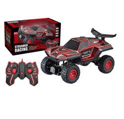 2021 Nova chegada 4WD 1: 16 de galhardetes Racing carro remoto brinquedo fora de estrada com luz e som do veículo