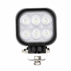 12Volt/24Volt 4inch 60W Square Osram LED-Arbeitsleuchte mit Drehfunktion Halterungen