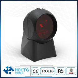 20 líneas de lectura láser omnidireccional de códigos de barras 1D USB de la plataforma de la imagen HS-7110