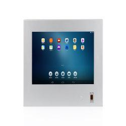 Sin ventilador OEM IP65 Resistente al agua Capactive industrial resistente tablet Android Touch Panel PC con caja de aleación de aluminio