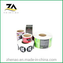 Personnalisé Papier auto-adhésif imprimé imprimer Impression d'étiquette autocollant cadeau