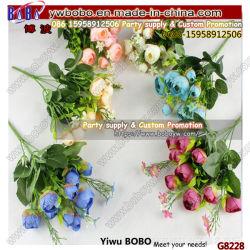 Handmade chrysanthème fleur en vrac mini fleurs de soie artificielle Décoration maison Wedding produit (G8228)