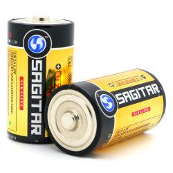 Alkalische Batterij van de Macht van de Grootte van D van de economie Lr20 2500min de Super voor het Slot van het Parkeren, Fabriek 18 Jaar