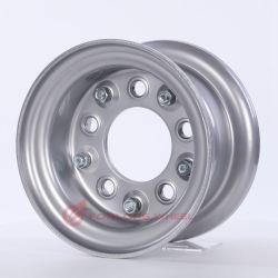 Vorderrad mit geteilter Felge, Stahl 4,33r-8 ET0 94/140/5, grau, für Reifen 18X7-8