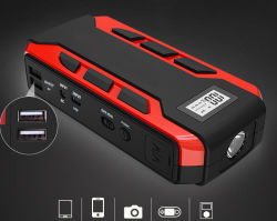 Duas portas USB portátil Bateria Multifuncional Car Jump Starter 12V