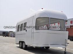 Corriente de aire caliente de Venta de Camper Tráiler precio mayorista de concesión de Bienes Muebles Camping camión
