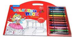 Manípulo de grossistas de livro para colorir com 12 PCS Pen