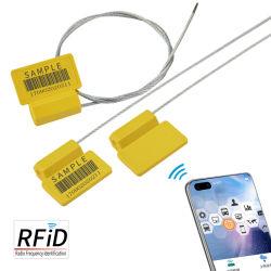 Zc-06h UHF および HF チップ RFID 電子ケーブルシール用 コンテナおよびロジスティクス車両
