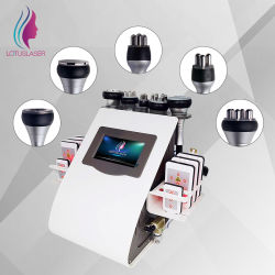 Lipo grasa extracción al vacío de cavitación radiofrecuencia láser Lipo ultrasónica de la máquina de adelgazamiento de la máquina de Belleza Salon