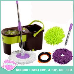 Limpie el lavado de comerciales de fácil palabra cuchara giratoria Spin Mop