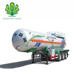 3 ESSIEUX Shengrun dioxyde de carbone liquide semi-remorque de réservoir de transport