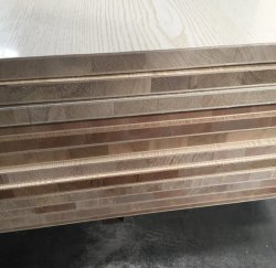 Le contreplaqué de bois stratifié bloc commercial d'administration en Linyi Chine