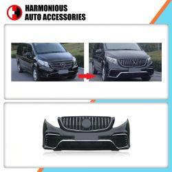 De auto Bumper van de Lift van het Gezicht van de Luxe van Lichaamsdelen Voor en Achter voor Benz Vito van Mercedes en v-Klasse