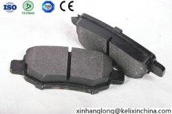 Het laag-Metaal van D1673, semi-Metaal, de Ceramische AutoDelen van de Stootkussens van de Rem van de Formule voor de Vervangstukken van de Auto Chery