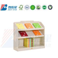 La pantalla de madera estante de libros de almacenamiento de los niños, la Biblioteca Escolar estante para libros, muebles de jardín de infantes y preescolar, sala de juegos, muebles de madera contrachapada de niños libreria libreria