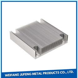 L'estampage OEM Profil ailettes de refroidissement du radiateur en aluminium
