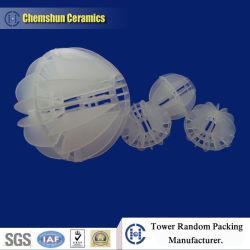 Boule creuse polyédriques en plastique comme chinois d'emballage de vente en gros de la tour en plastique