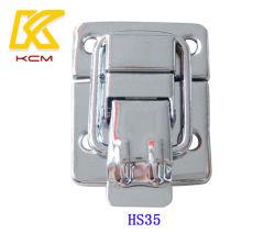 유행 스테인리스 케이스 자물쇠는, 작은 소형 보석함 자물쇠 장난감 상자 기계설비 나무로 되는 여송연 래치 자물쇠를 금속을 붙인다