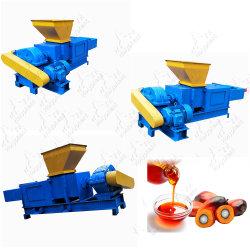 1-5T/H de pequeña escala, África, el aceite de palma de prensa de tornillo de extracción de hacer el procesamiento de la planta de producción de equipos de la línea de la máquina
