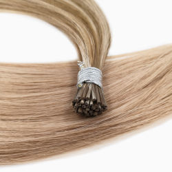 """22"""" я наконечник удлинением волос Длина волос лучшее качество двойной обращено Реми волосы высшего качества толщиной Pre-Bonded расширений нижней части нескольких цветов"""