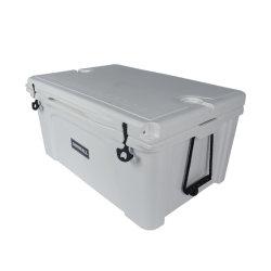 116 Qt Rotomolded 플라스틱 보유 음식 신선한 완벽한 설인 얼음 냉각기 상자