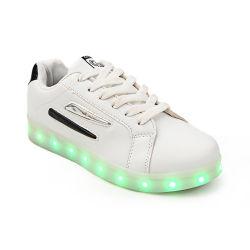 아이들 LED 번쩍이기 형식 주문 색깔에 의하여 LED 구두를 신긴다