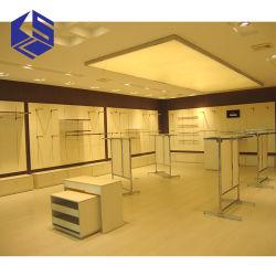 Haltbarer Butike-System-Möbel-Entwurfs-hölzerne hängende Kleidungs-Bildschirmanzeige