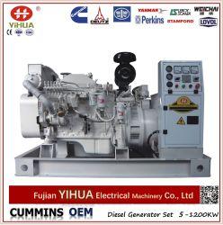 30-400KW/38-500kVA Cummins Abrir generador de diesel marino con CCS