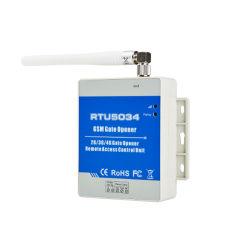 Receptor GSM 2G/3G/4G GSM abridor de puerta de acceso por control remoto del interruptor de relé libre de llamar a casa de seguridad del sistema de alarma para puertas automáticas