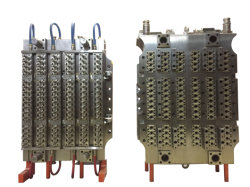 48 cavidades de plástico de preformas PET do Molde de Injeção com Câmara Quente