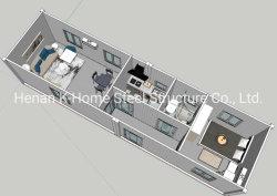Vorfabriziertes Einzelschlafsaal-Zimmer mit Küche
