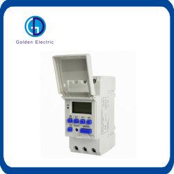 Programmierbarer Digital Timer-Schalter der China-Lieferanten 16A/250VAC LÄRM Schienen-LED