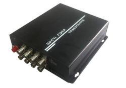 8CH Ahd/ Hdcvi Hdtvi /video converter convertisseur de vidéo sur la fibre optique 2MP 1080P