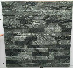 Parede de ardósia Verde populares Ledgestone pedra para Villa decoração cultural